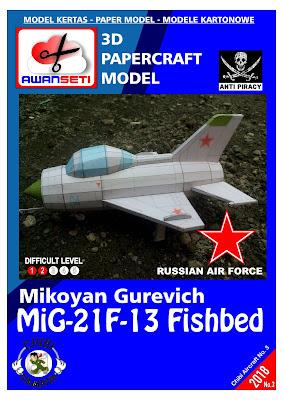 Chibi MiG-21F-13 Fishbed (USSR)