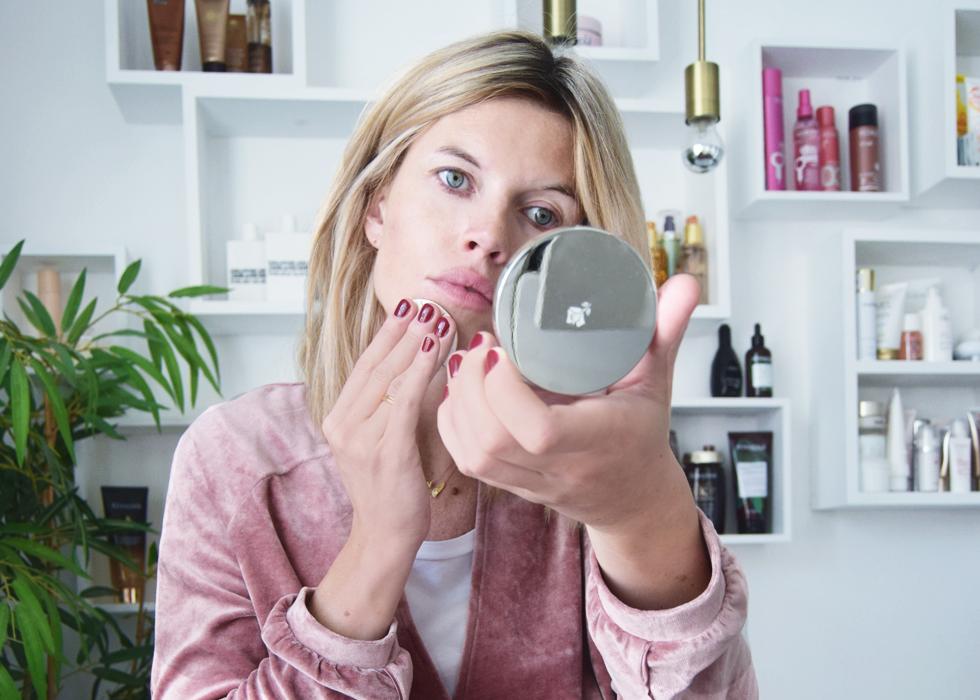Lancôme, Cyell, Beauty, foundation, step by step, tutorial, make-up