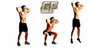 Cara mengecilkan perut buncit dengan squat jump
