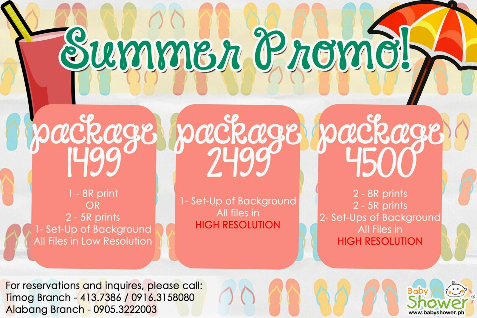 baby shower package deals philippines
