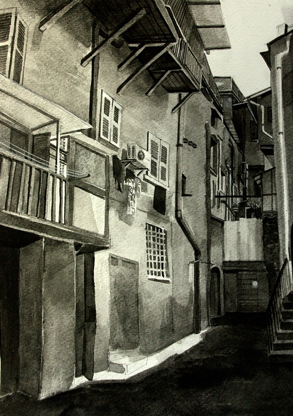 02-Malisa-Suchanya-Enchanting-Architectural-Drawings-of-Viterbo-Italy-www-designstack-co