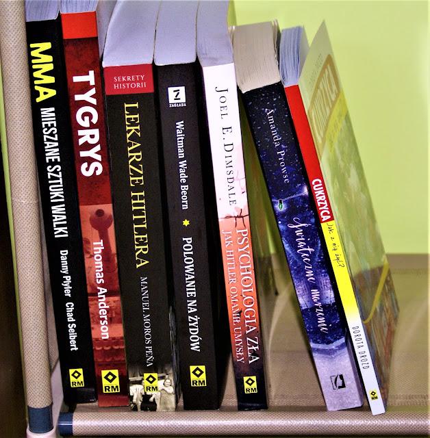 Regały na książki, przechowywanie lektur