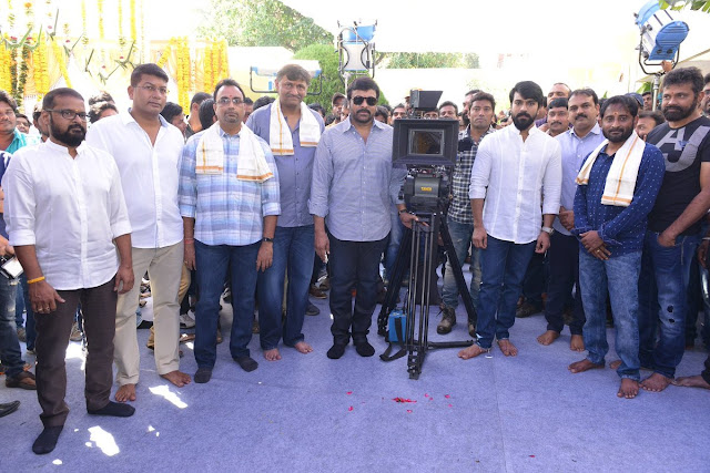 Ramcharan sukumar new movie Pooja Photos