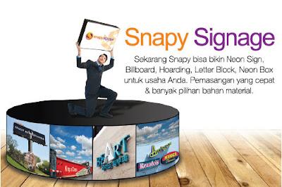 Snapy Jasa  Neon Box Berkualitas Untuk Usaha Anda