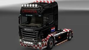 Croatia skin for Scania R