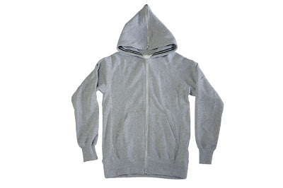 NuGgETS [ Hooded Parker-Full Zip ] GRAY