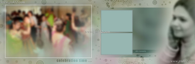 Evergreen 12x36 Album PSD Vol-7 | PSD12 | Karizma Background