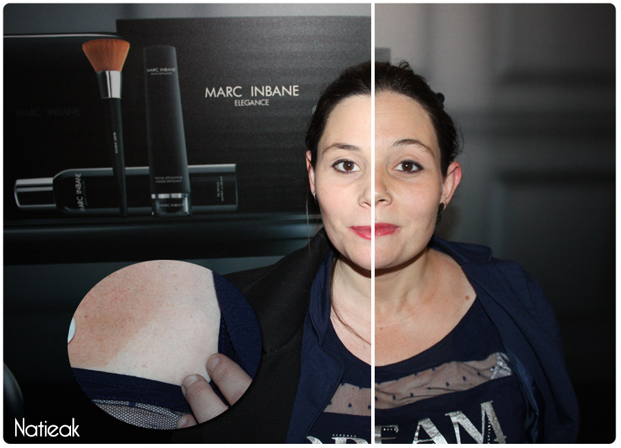 test spray autobronzant tanning de Marc Inbane