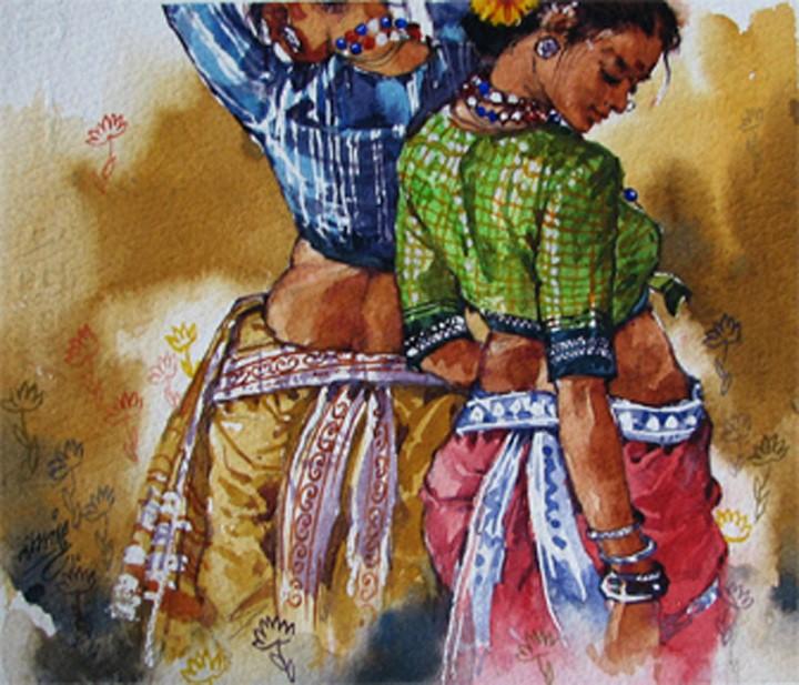 Ramchandra Kharatmal. Художник из Индии 13