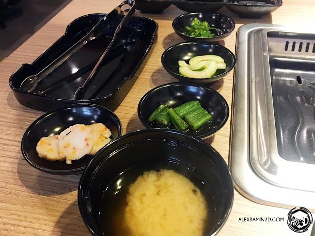 sumo-niku-side-dishes