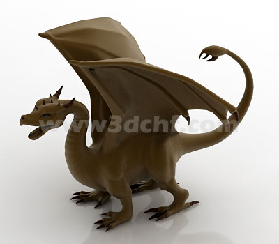 dragon free 3d model