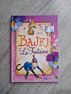 Bajki La Fontaine - wydawnictwo Greg