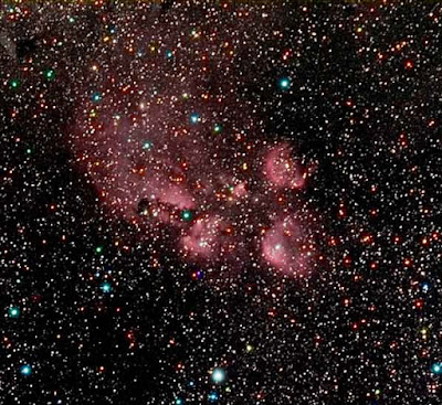 "NGC 6334 - ""Cat's Paw Nebula""  Imaged by Insight Observatory"