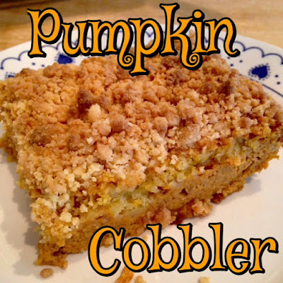 Pumpkin Cobbler  That Other Pumpkin Dessert