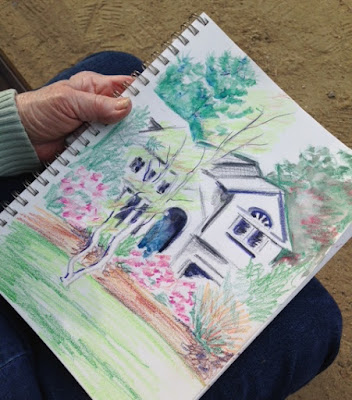 sketch night markham arboretum