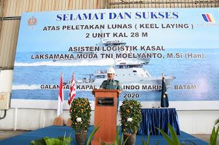 TNI AL Bangun 2 Kapal Angkatan Laut