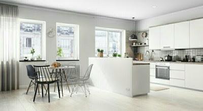 Ide desain Warna Cat Ruang Tamu yang Cantik dan elegan
