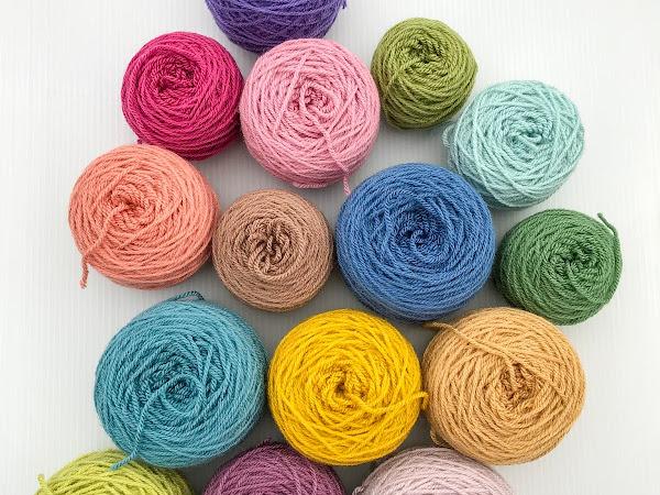 Using up yarn scraps