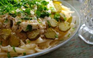 Tursulu Makarna Salatasi