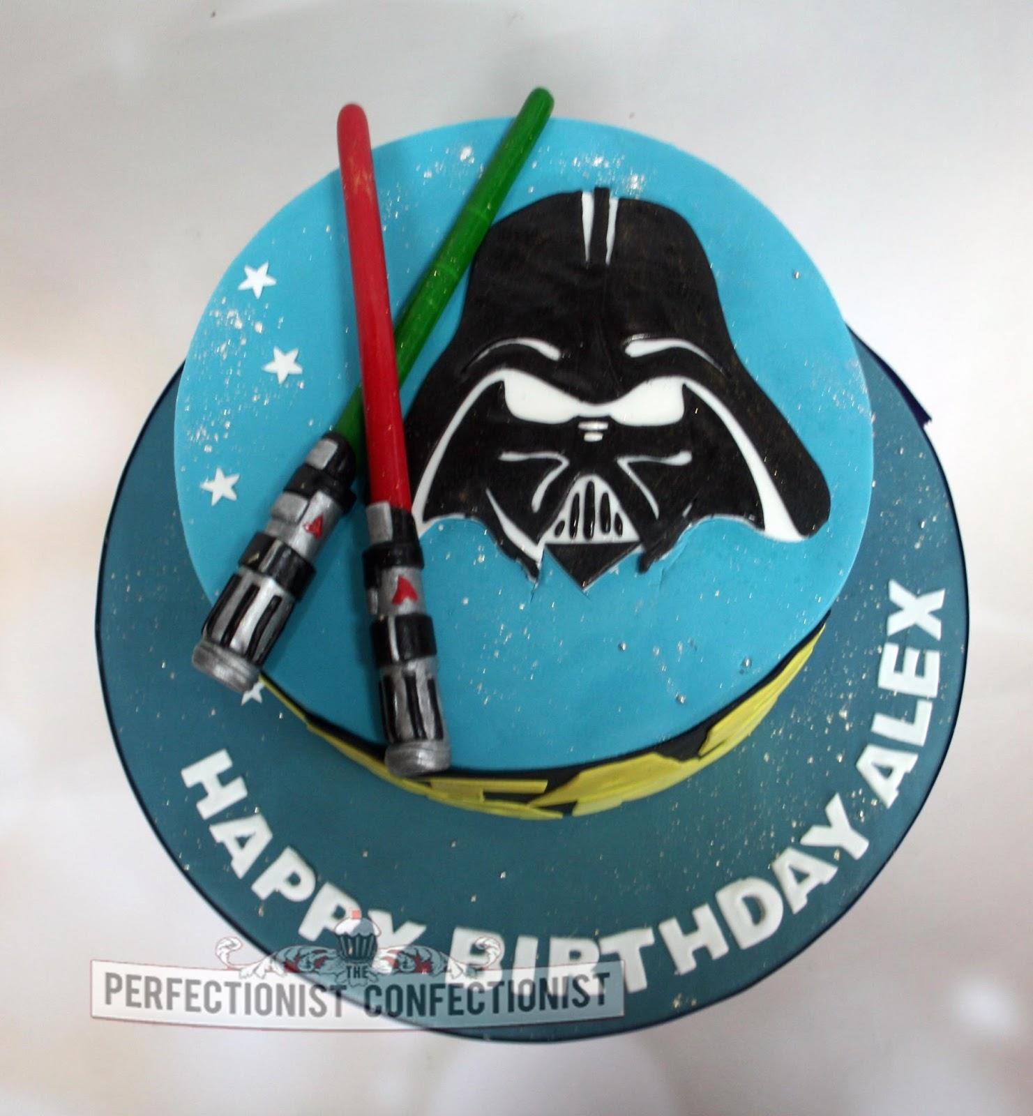 The Perfectionist Confectionist Alex Starwars Birthday Cake