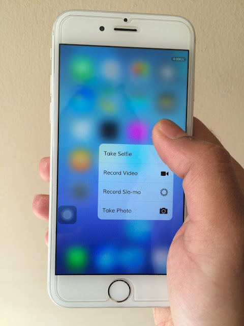 3D touch is new features for new iPhone 6S andiPhone 6S plus and was designed to make moving around your iPhone sharper, faster and more intelligent that previous generations