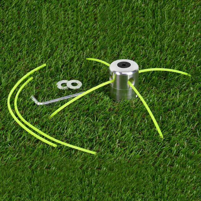 หัวเอ็นตัดหญ้าอลูมิเนียม พร้อมเอ็น 3.0 มิล