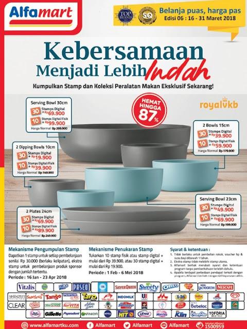 Katalog ALFAMART Promo ALFAMART Terbaru Periode 16 - 31 Maret 2018