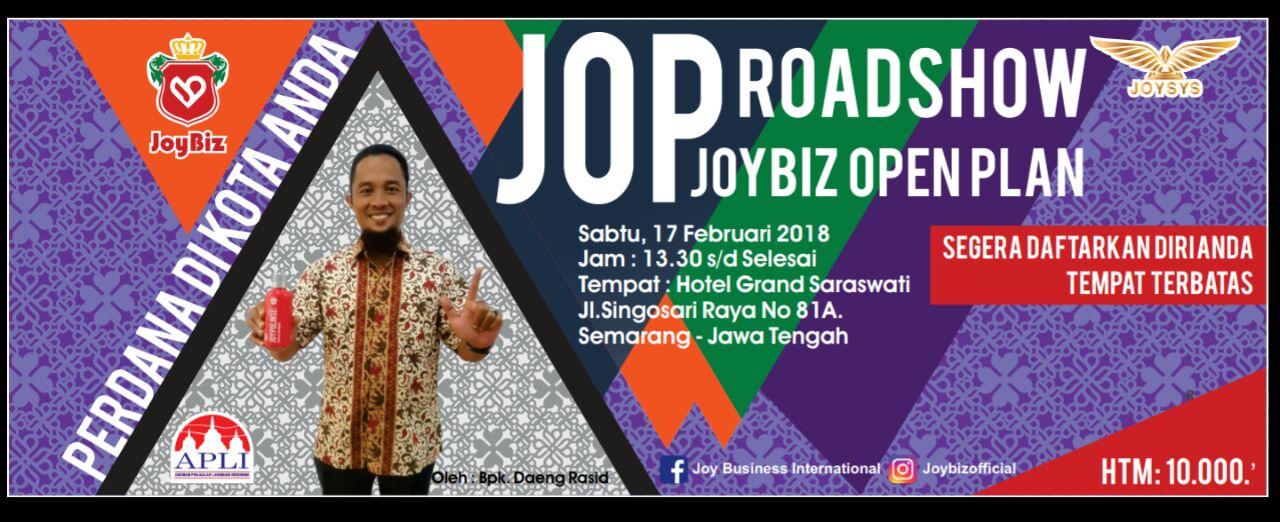 Presentasi JOP Perdana Joybiz di Kota Semarang