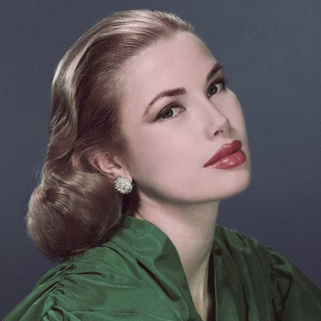 Grace Kelly after the transfiguration