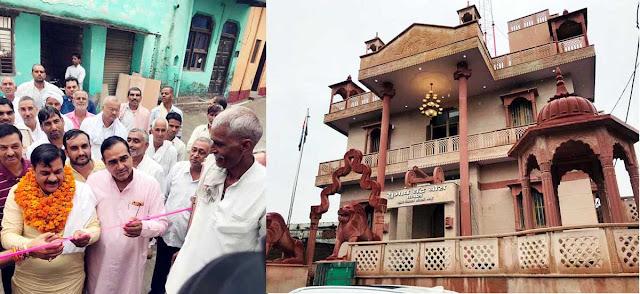 मुख्यमंत्री के आर्शीवाद से पृथला क्षेत्र में हुए रिकार्ड स्तर पर विकास कार्य : टेकचंद शर्मा