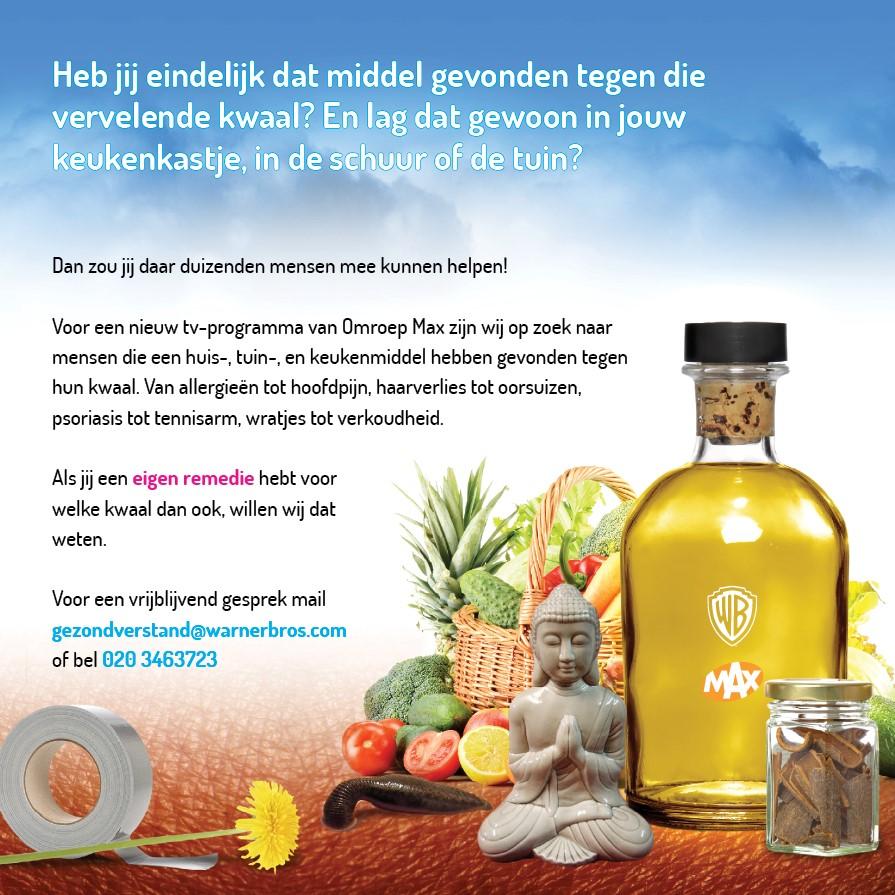Moe Zijn Is Zooo Blog Oproep Van Omroep Max