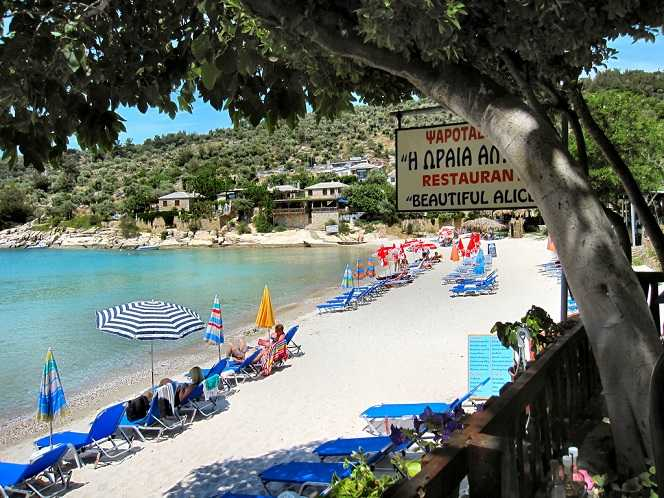 Thassos island and family vacations in Greece
