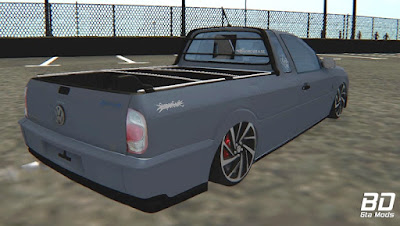Download, mod, carro, pickup, rebaixada, Vw, Saveiro, G4, Super, Surf ,GTA San Andreas, PC, Jogo, Game
