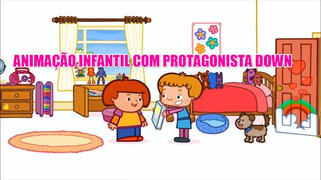 Desenho Infantil com Protagonista Down