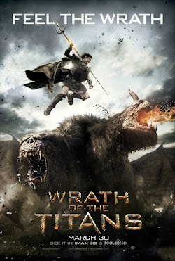 Wrath of The Titans Hollywood Movie 2012 Online Sam Worthington  Liam Neeson First Look Poster