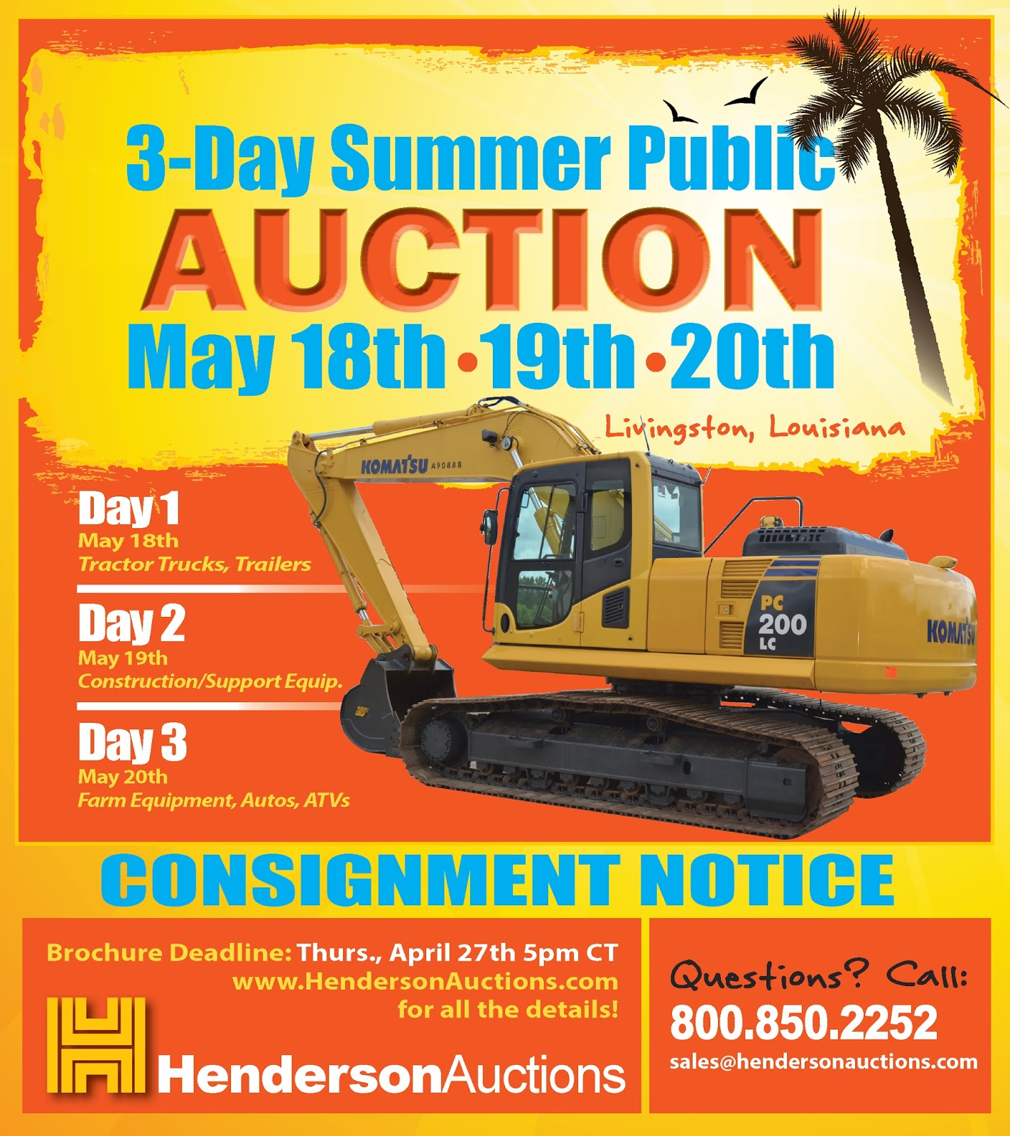 Henderson Auctions   a family owned business since 1957: April 2017