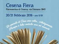 Cesena Fiera: C'era una volta...il libro dal 20/02/2016 al 21/02/2016