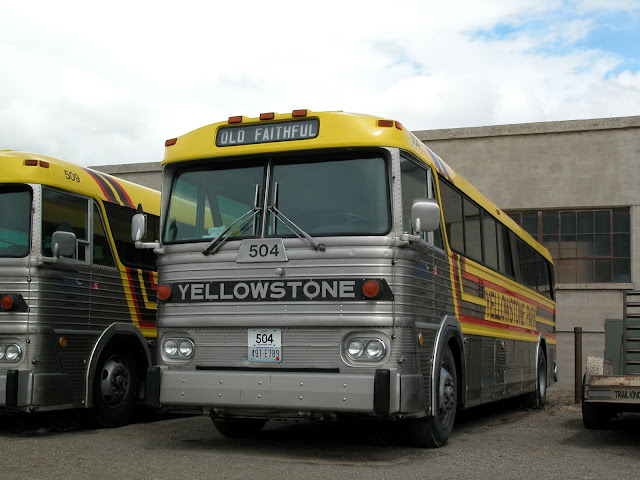 1975 MCI Yellowstone bus