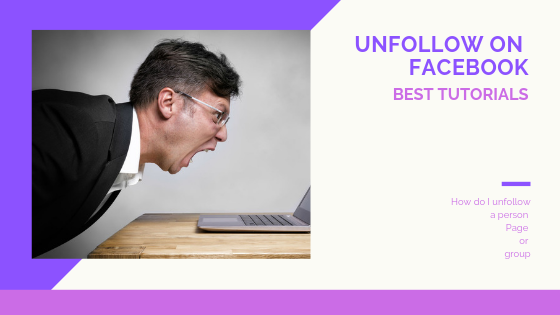 How To Unfollow On Facebook<br/>
