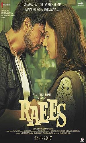 Raees (2017) Full Hindi Movie Download 720p Bluray