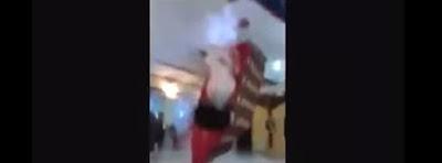 Pareja de novios sufren caida boda turcos