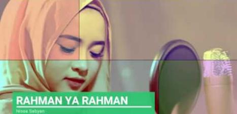 Lirik Lagu Ya Rahman Nissa Sabyan