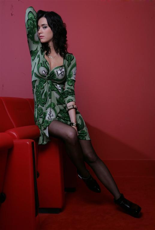 Katy Perry Katy Perry Greendress