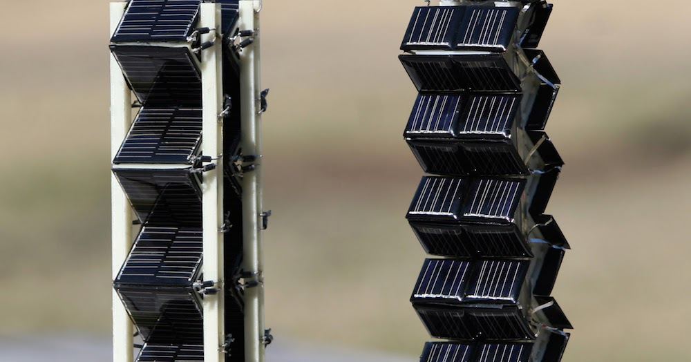 Increased Solar Efficiency By Solar Towers Mit S Creation