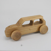 LFC36, Student's Car, Lotes Toys Wooden Car