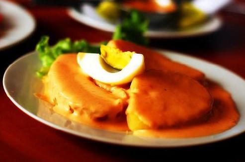 Huevo en Salsa de Rocoto