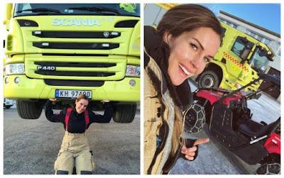"""Kayak Supergirls, Pemadam Kebakaran Cantik Ini Bisa """"Angkat Truk"""". Awas Jatuh Cinta Gaes!"""