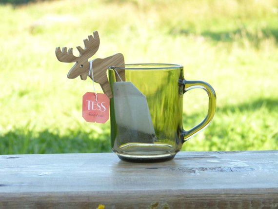 Handmade Tea Bag Holder