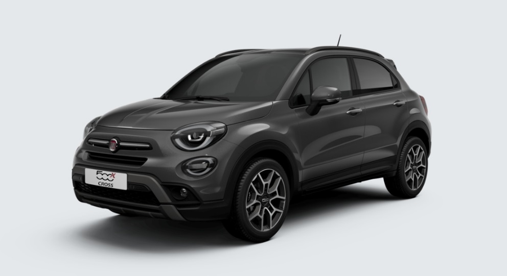fiat 500x cross restyl 2018 couleurs colors. Black Bedroom Furniture Sets. Home Design Ideas