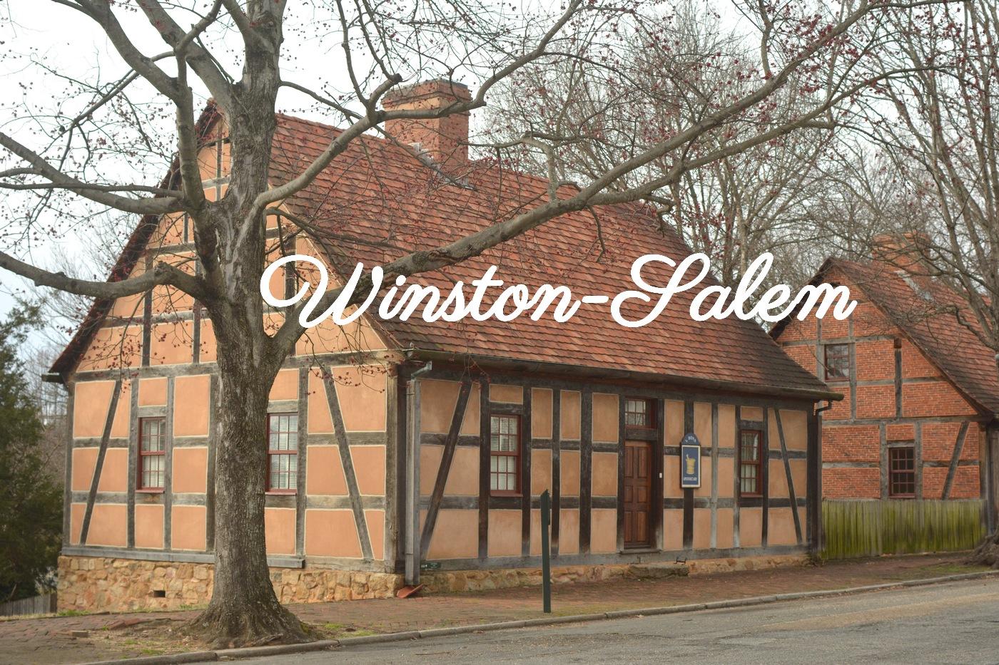 Rue principale Winston Salem